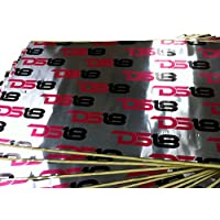 DS18 SD918 Self-Adhesive Sound Vibration and Heat Deadening Dampening 36 sq. ft.x70 mil Thick