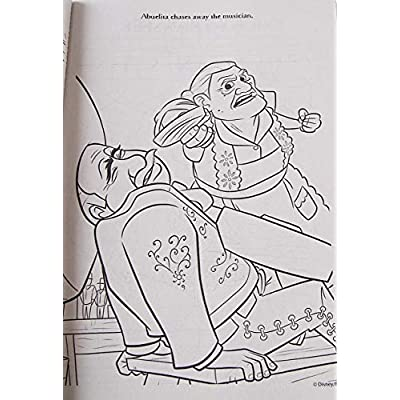 Coco Gigantic 192 Page Coloring Book with Bookmarks on Back: Toys & Games