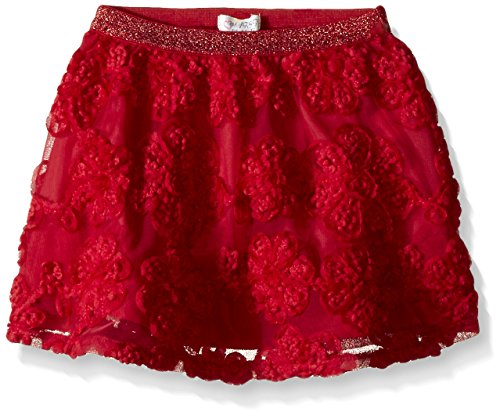 Skirt Percent 100 (The Children's Place Baby-Girls 3D Skirt, Ruby, 18-24 Months)