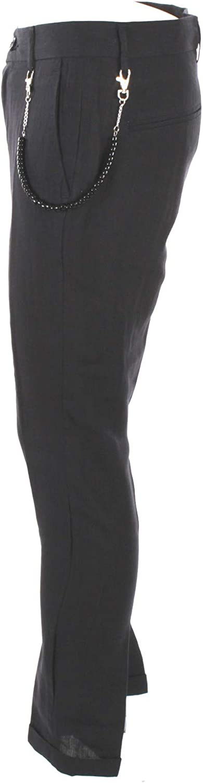 OUTFIT Pantalone Uomo 52 Blu P062 Primavera Estate 2019