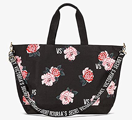Amazon Com Victoria Secret Pink Rose Floral Tote Bag Sold Out