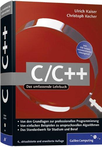 C/C++: Von den Grundlagen zur professionellen Programmierung, m. CD-ROM
