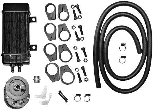 Jagg Oil Cooler Adapters - Jagg Vertical Frame-Mount Oil Cooler Kit 750-2000