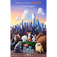 The Secret Life of Pets Movie Poster Limited Print Photo Louis C.K Kevin Hart Size 11x17 #1