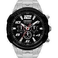 Relógio Masculino Orient Analógico MBSSC172P2SX - Prata/Preto
