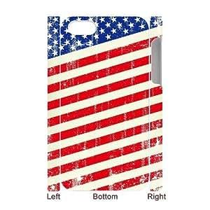 HB-P-CASE DIY Design American Retro Flag Pattern Phone Case For Iphone 4/4s