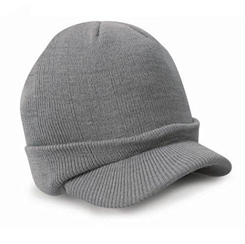 c0ee730b052 Voberry%C2%AE Stylish Visor Beanie Knitted product image