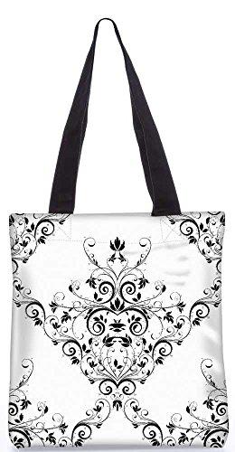"""Snoogg V-Förmigen Muster Tragetasche 13,5 X 15 In """"Einkaufstasche Dienstprogramm Trage Von Polyester Canvas"""