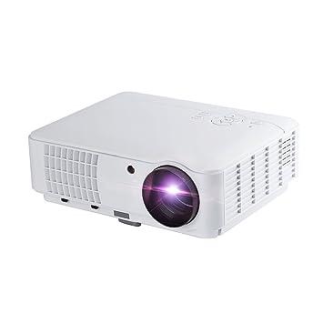 LESHP RD-804 - LED Proyector Cine en Casa Multimedia Home Cinema Videoproyector (1280 x 800, Full HD 1080, 2500 Lumenes, VGA, HDMI, USB, AV), color ...
