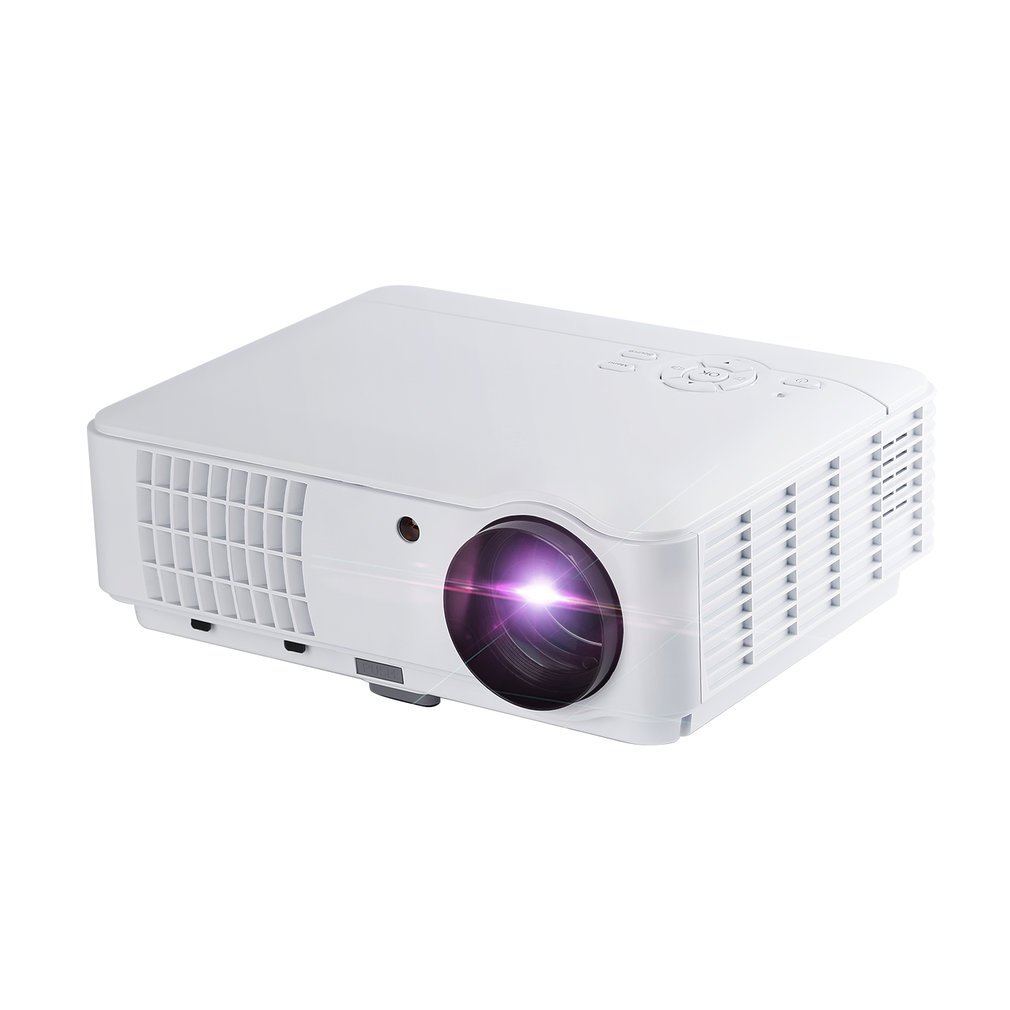 Projector Upgrade Lumens Mini Projector Full HD 1080P Home Lcd Projector Support HDMI Usb VGA AV For Games TV PC Presentation