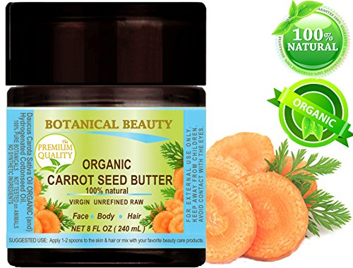 ORGANIC CARROT SEED OIL BUTTER WILD GROWTH Daucus Carota .10