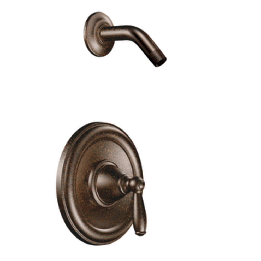 Moen T2152NHORB Brantford Posi-Temp Shower Trim Kit without Valve, Oil Rubbed Bronze by Moen