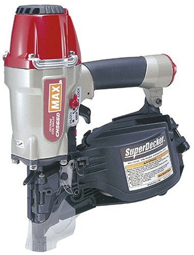 Max CN565D 1-3/4-Inch to 2-1/2-Inch Coil Decking Nailer