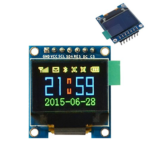 DIYmall 0.95 inch Colorful OLED SSD1331 96X64 Resolution for 51 STM32 Arduino