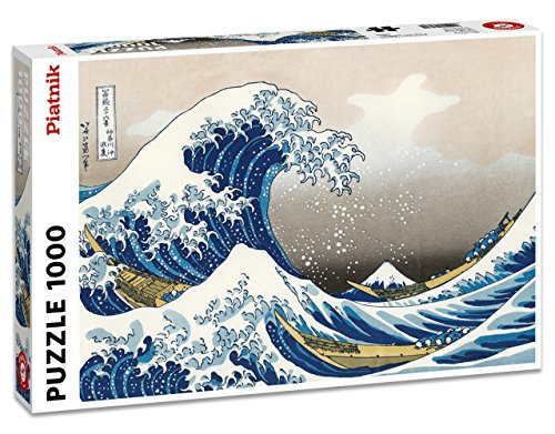 Hokusai The Wave 1000 Piece Jigsaw Puzzle