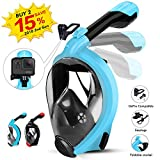 HENGBIRD Snorkel Mask with Detachable Ca...