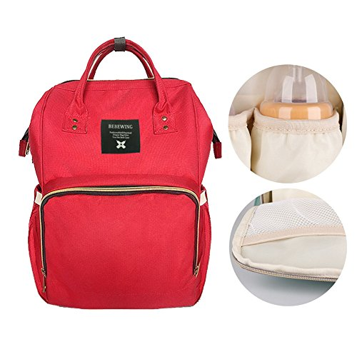 Diaper Bag Backpack,Large Capacity Multi-Function Waterproof