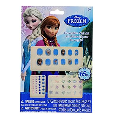 Disney Frozen Decorative Nail Art: Toys & Games