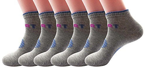 SilkWorld Cotton Athletic Ankle Socks