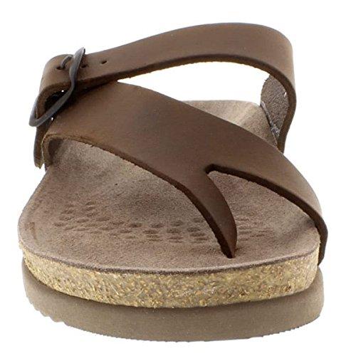 Foncé Mephisto Mesdames de Sandale sandalbuck Hélène Brun nwSx16HBwq