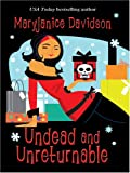 Undead and Unreturnable, MaryJanice Davidson, 0786283084