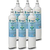 Tier1 Replacement for LG LT600P 5231JA2006A, 5231JA2006B, Kenmore 46-9990, 9990, 469990, 5231JA2006F, 5231JA2005A Refrigerator Water Filter 6 Pack