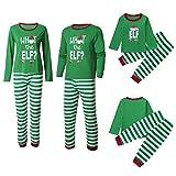 Family Matching Christmas Pajamas Set, Elf Christmas Pjs and Pajama Pants Set (Papa, 2XL)