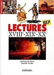 Lectures : BEP, XVIIIe-XIXe-XXe (Frabep)