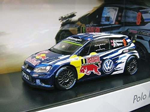 costumbre VW 1/43 Volkswagen Polo R WRC RALLY CASINO # 9 2015 ...