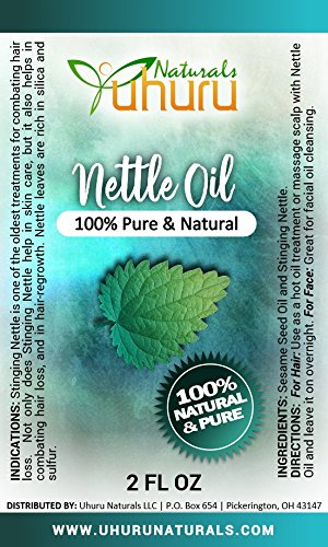 Nettle Oil 2 ounce bottle