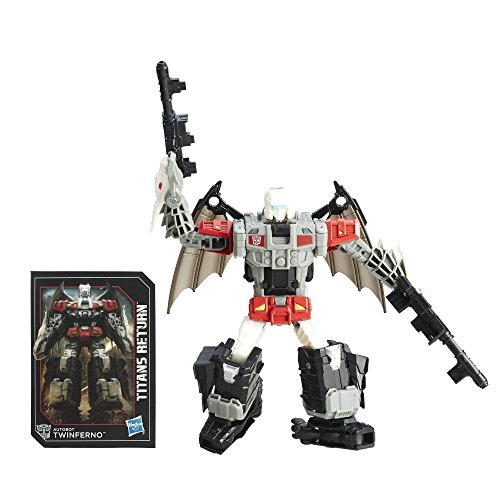 Transformers Generations Titans Return Autobot Twinferno and
