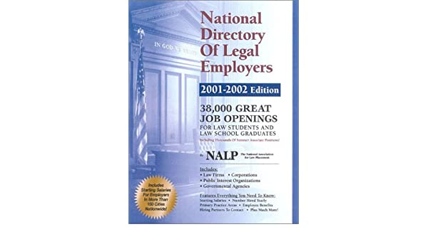 National Directory of Legal Employers: National Association for Law ...