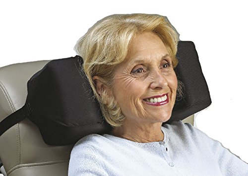 SkiL-Care Extra Depth Wheelchair Headrest, 4-3/4 inches