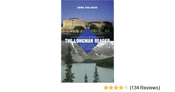 The longman reader central texas college edition judith nadell the longman reader central texas college edition judith nadell john langan eliza a comodromos 9780536386120 amazon books fandeluxe Choice Image