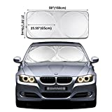 iTavah Car Windshield Sunshade Blocks UV...