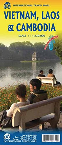 Vietnam, Laos & Cambodia 1:1,250,000 Regional Travel Map...