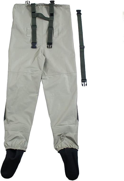 KYLEBOOKER P/êche /à la mouche Waders Boot Respirant Imperm/éable Chaussures En Plein Air Chasse Anti-slip Wading Bottes KBFSAA