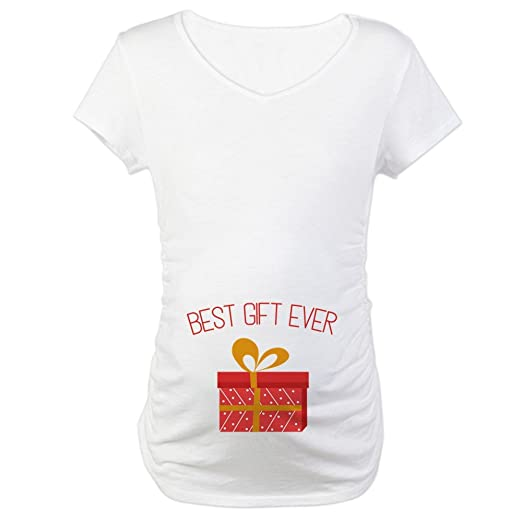 4f48f8b76eb6c CafePress Best Gift Maternity T-Shirt Cotton Maternity T-shirt, Cute & Funny
