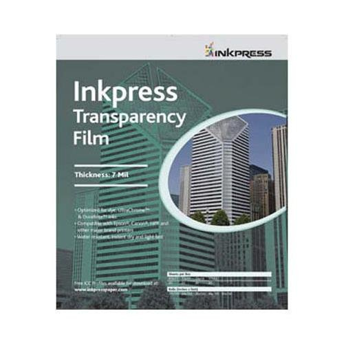 Inkpress Transparency Film - Inkpress Transparency Film, 10 mil., 8.5x11