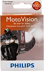 Philips MotoVision introduces the first high performance headlight bulb specifically designed for motorcycles. Philips has engineered MotoVision for maximum visibility as well as maximum safety. Thanks to its technology the bulb produces a un...