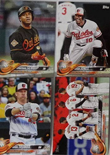 2018 Topps Series 1 & 2 Baltimore Orioles Team Set 23 Cards Trey Mancini Dylan Bundy Manny Machado