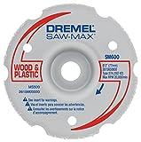Dremel SM600 3-Inch Wood & Plastic Flush Cut Carbide Wheel