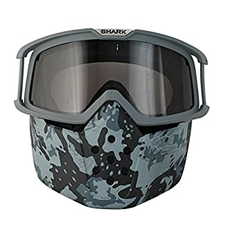 Set Gafas Máscara Camo x Cascos Shark Raw