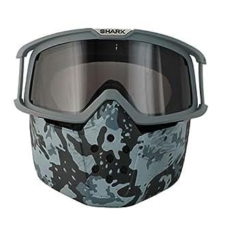 Set Gafas Máscara Camo x Cascos Shark Raw