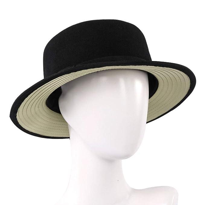 WYBXA Otoño E Invierno Mujeres del Sombrero, Señoras De Ancho ...