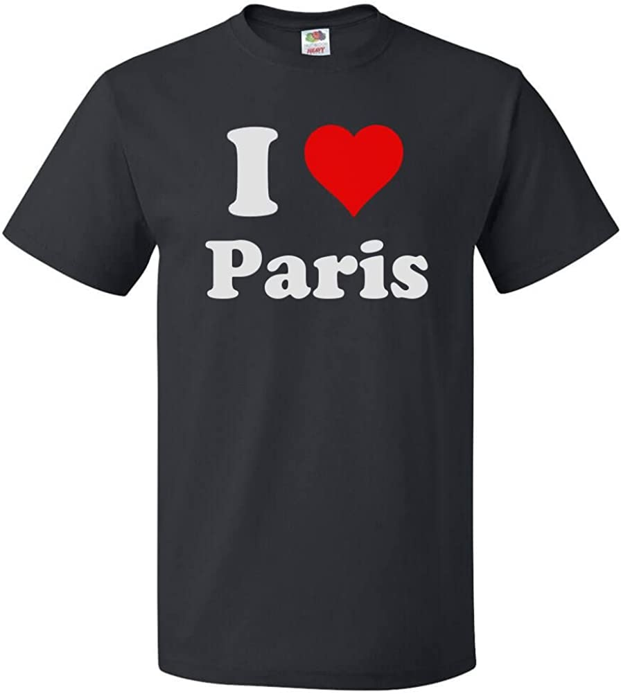 I Love Heart Paris T-Shirt