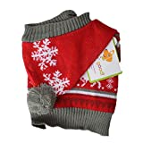Lookin Good Holiday Dog Sweater - Red (14 Pack)