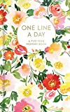 img - for Floral One Line a Day: A Five-Year Memory Book book / textbook / text book