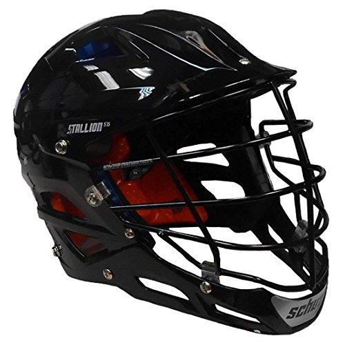 STX Stallion 575 Adult Lacrosse Helmet (Black, Large)