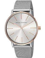 Armani Exchange Womens Dress Silver Watch AX5537